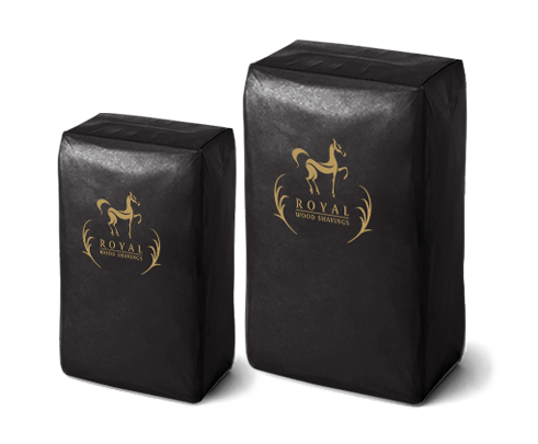 Royal Wood Shavings bags
